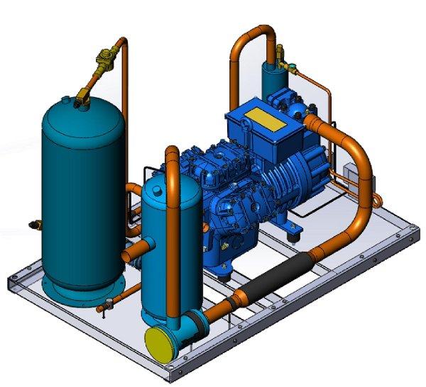 под регулирование холодопроизводительности винтового компрессора так сложно или